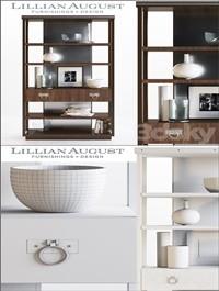 Lillian August Walker Bookcase