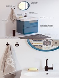 Set of bathroom furniture IKEA