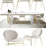 Jane Dinning Chair and Whitney Dining Table by West elm Collection