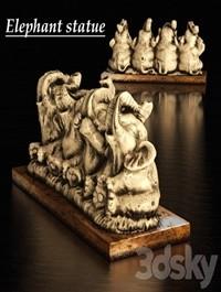 Figurine elephants