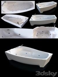 Acrylic hydromassage bath Doctor Jet Laluna