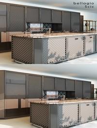 Bellagio chic kitchen