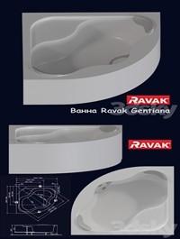 Bath Ravak Gentiana