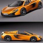 McLaren 650S 2015 3D Model