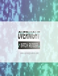 Overnight Batch Render v1.03 for 3ds Max