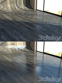 Material parquet BLACK SILVER
