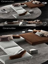 Minotti Granville Sofa 4