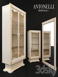 Storefronts and mirror Antonelli Moravio