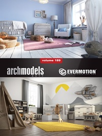 EVERMOTION Archmodels vol. 189