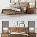 Restoration Hardware ST.JAMES PANEL BED
