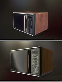ArtStation 80s Microwave