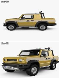 Suzuki Jimny Sierra Pickup 2019 3D model