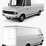 Ford A-Series Panel Van 1973