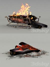 Firewood set