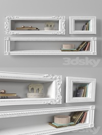 Shelves with decor from RHBaby Child
