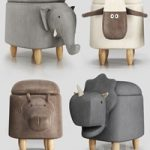 Hippo childrens storage stool