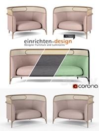 Targa Lounge armchair and sofa