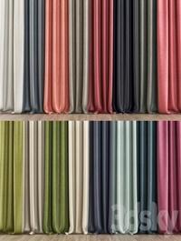 Curtain zeblin materials
