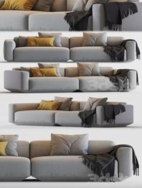 Develius modular sofa