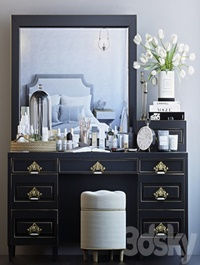 Decorative set for dressing table 7