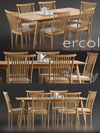 Ercol Teramo Medium Extending Dining Table Ercol Teramo Dining Chair