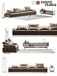 Ditre Italia Flick-Flack sofa
