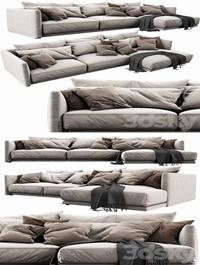Poliform Bristol Chaise Lounge