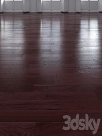 Oak Natural dark floor 2