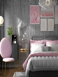 Modern Style Bedroom 390