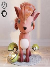 Pokemon Vulpix