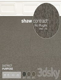 Shaw Carpet District Purpose Wall to Wall Floor No 1