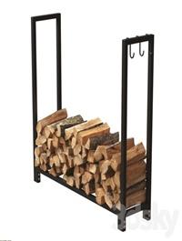 Firewood Storage Rack 2