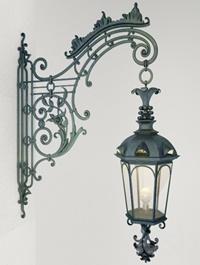 Wrought iron Wall Lamp