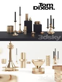 Tom Dixon COG Candle Collection
