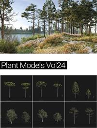 MAXTREE Plant Models Vol 24