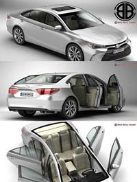 Toyota Camry 2015 3D Mode