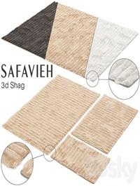 SAFAVIEH 3D SHAG SET