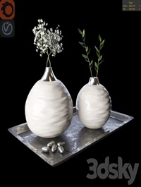 Gypsophila Decor Set