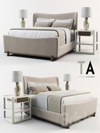 Theodore Alexander Bedroom set by Michael Berman