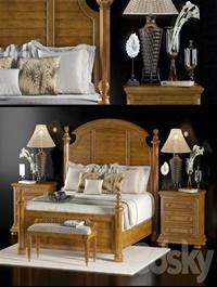Lexington home brands charlestown bed