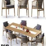 B&B Italia GINESTRA Rectangular Table