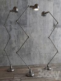 ATELIER SCISSOR TASK FLOOR LAMP