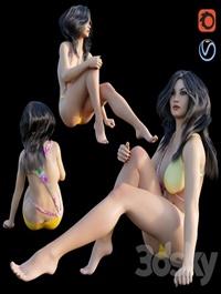 Girl bikini 02