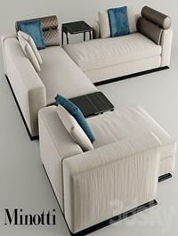 Corner Sofa minotti leonard