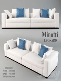 Sofa Minotti Leonard
