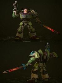 Buzz Lightyear Space Marine