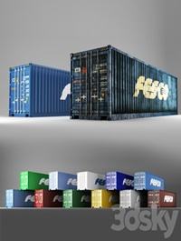 40 ft shipping container Fesco