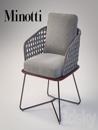 Minotti rivera little armchair