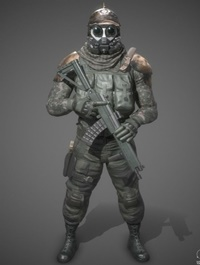 Dystopian Foot Soldier