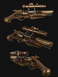 Steam Punk Gun